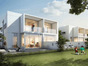 Construction Work well underway at Dubai Properties' Arabella 1 Townhouses in DUBAILAND