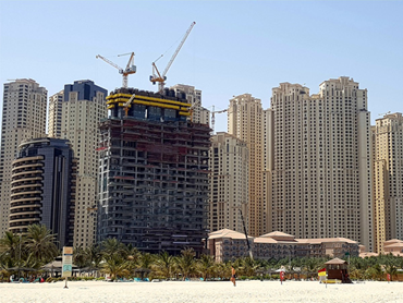 Dubai Properties Says 1/JBR on Track for Completion in 2019