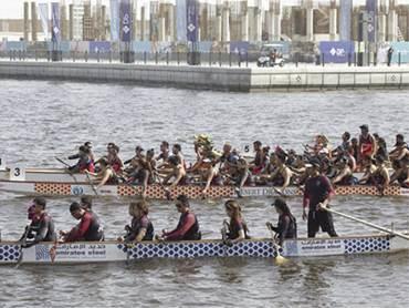 'Fun, Fitness and Camaraderie' as over 10,000 spectators enjoy DP Dragon Boat Festival at Marasi Business Bay