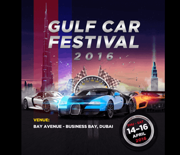 Amazing Gulf Car Festival 2016 happening in Bay Avenue!