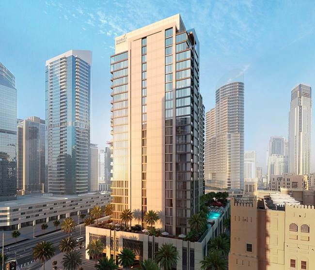 Bellevue Dubai Towers Properties