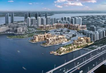 Jaddaf Waterfront - apartment towers